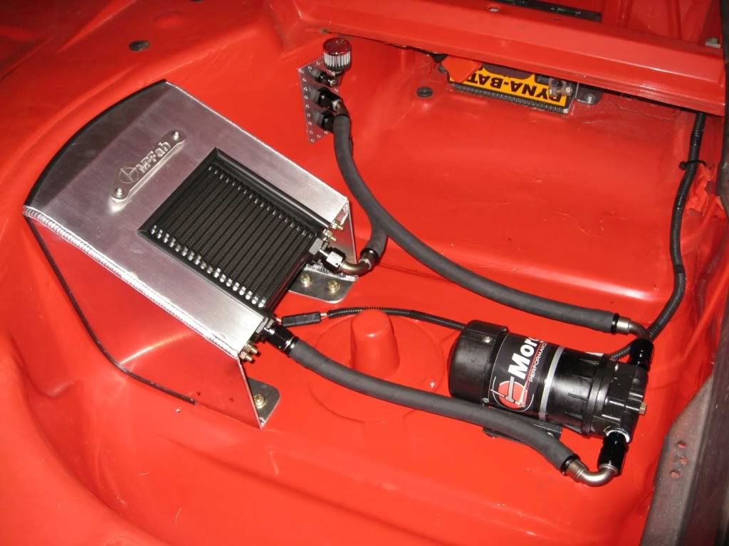 Differential Oil Cooler : Bmw e differential cooler morgan performance fabrication