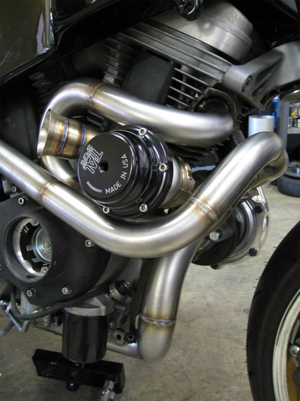 Buell XB9 Turbo - Morgan Performance Fabrication