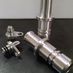 MPFab Billet Oil Feed & Oil Drain Adapters